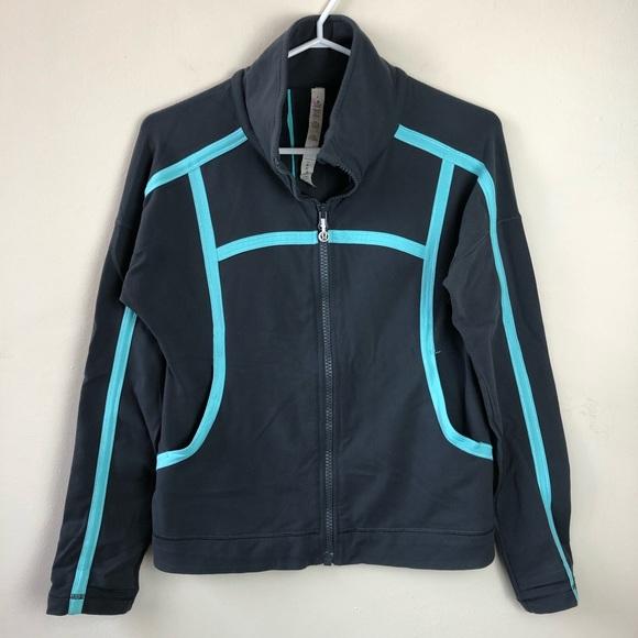 Lululemon size 6 zip up athletic sweater